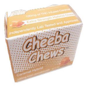 Cheeba Chew Hybrid 100mg Caramel