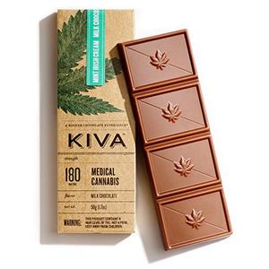 Kiva 180mg Chocolate Bars